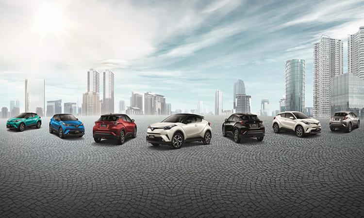 สีตัวถัง Toyota C-HR NURBURGRING Edition