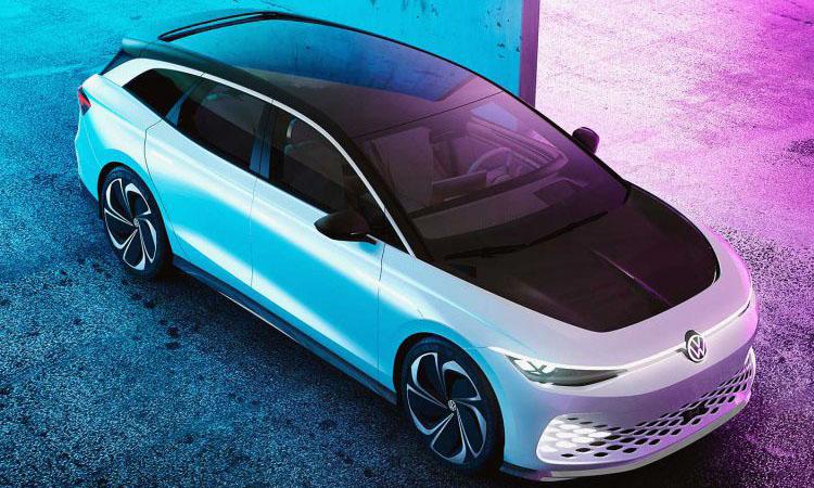 Volkswagen ID. Space Vizzion 3