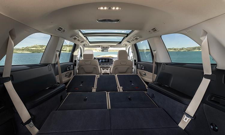การพับเบาะ Mercedes-Benz GLS 350d 4MATIC SUV