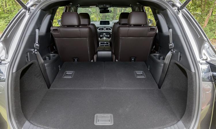 ที่เก็บของด้านหลัง All NEW Mazda CX-8