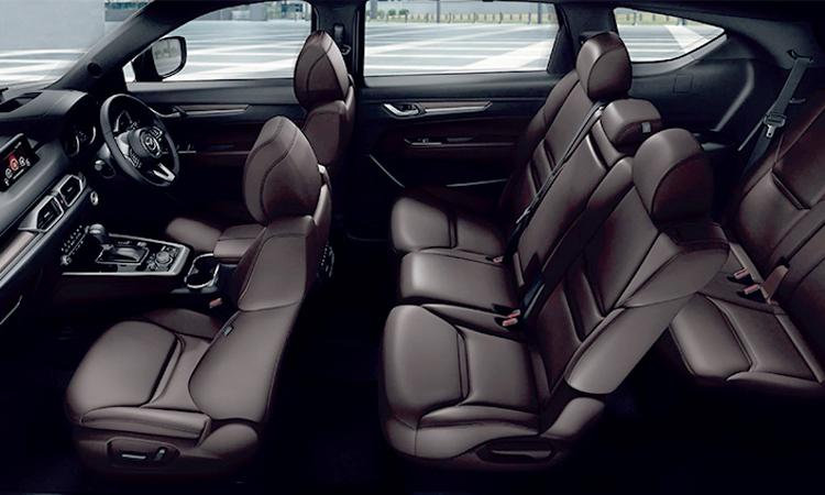 รูปแบบแถวนั่ง All NEW Mazda CX-8