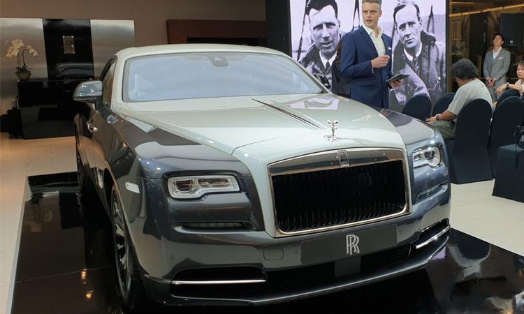 Rolls-Royce Wraith Eagle VIII 2019