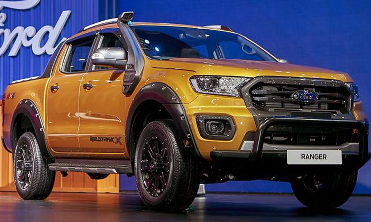 Ford Ranger 2.0 Bi-Turbo Wildtrak X 4WD 10AT ราคา 1,265,000 บาท