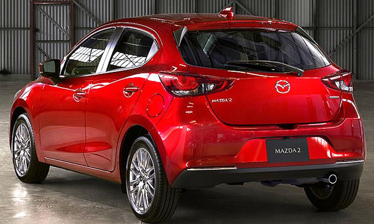 ท้าย Mazda 2 Minorchange