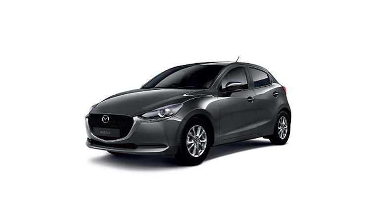 Mazda 2 Minorchange สีเทา Machine Gray