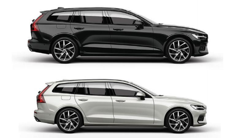 สีตัวถังภายนอก All New Volvo V60