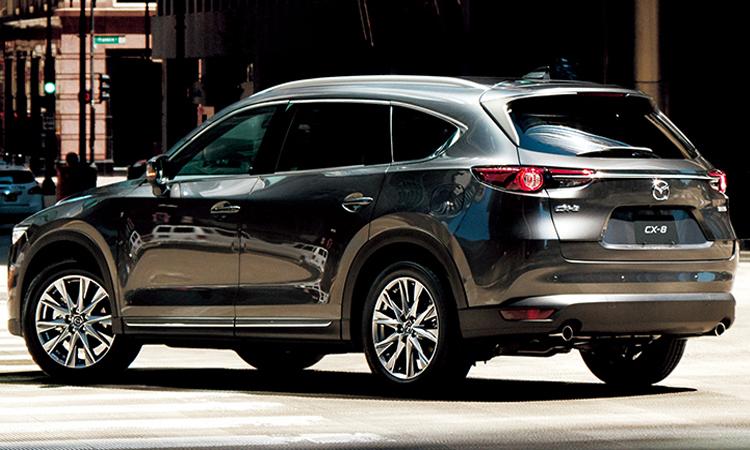 ดีไซน์รอบคัน All NEW Mazda CX-8