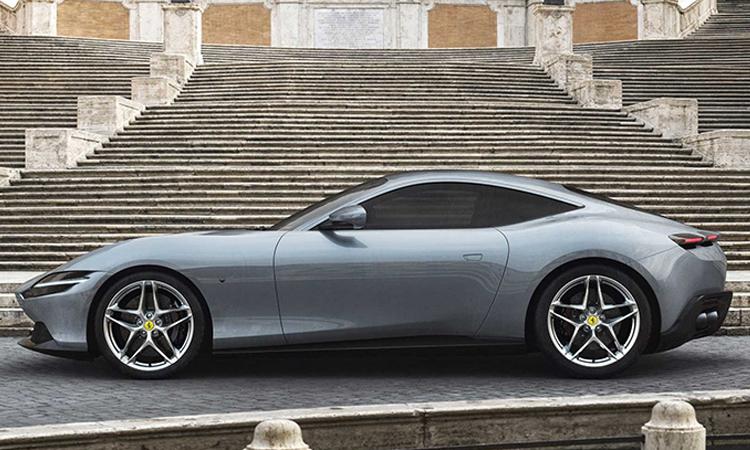 ดีไซน์ Ferrari Roma