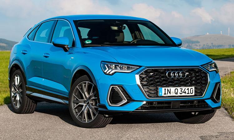 Audi Q3 Sportbackสีฟ้า