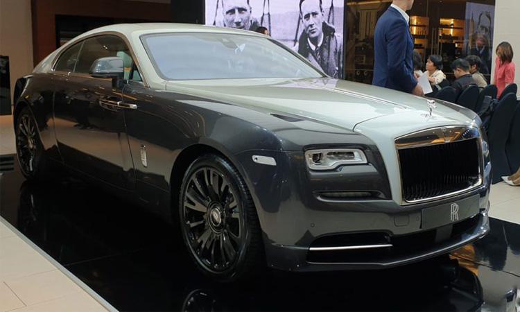 ดีไซน์ Rolls-Royce Wraith Eagle VIII 2019