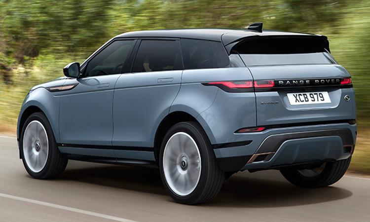 การออกแบบ Range Rover EVOQUE (Plug-in Hybrid)