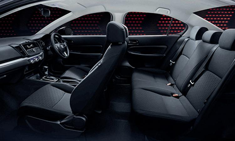 ดีไซน์ภายใน Honda City 1.0 TURBO CVT