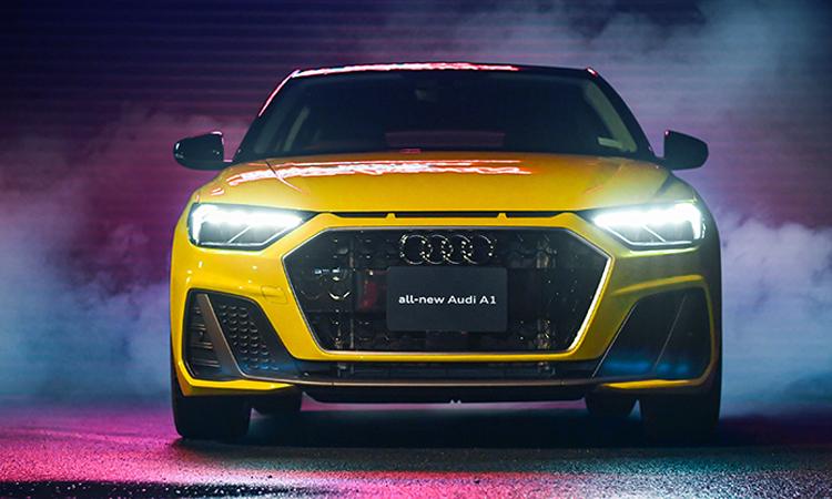ดีไซน์ด้านหน้า Audi A1 Sportback