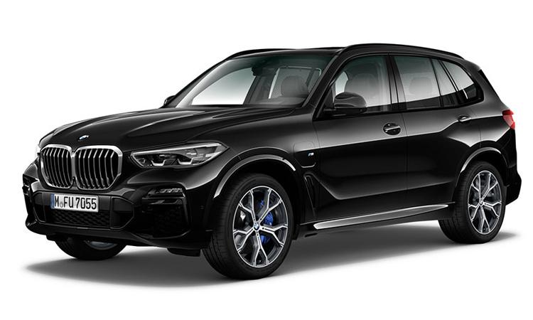 BMW X5 xDrive45e สีดำ Black Sapphire