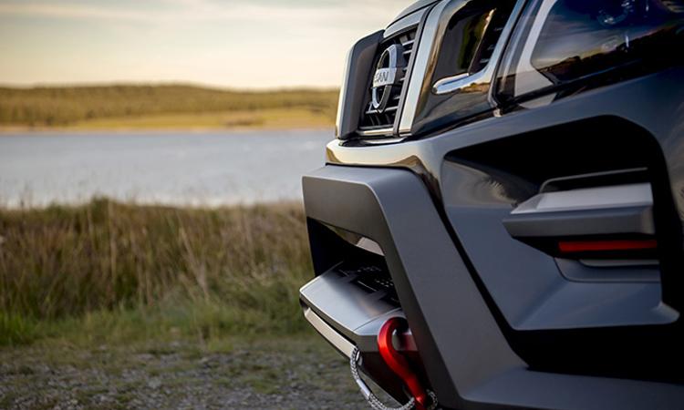 กระังหน้า All-new Nissan Navara 2020