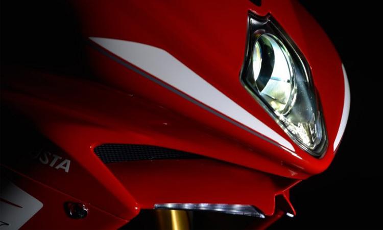 ดีไซน์ด้านหน้า ตารางผ่อนดาวน์ MV Agusta F4 RR
