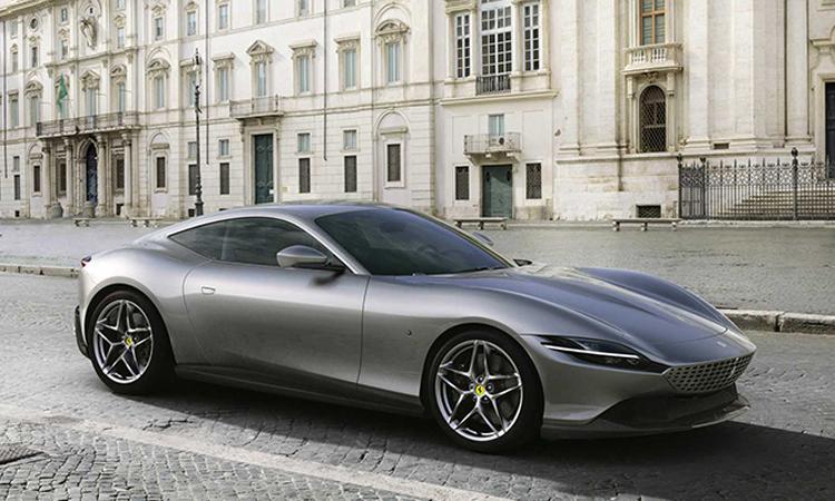 การออกแบบ Ferrari Roma