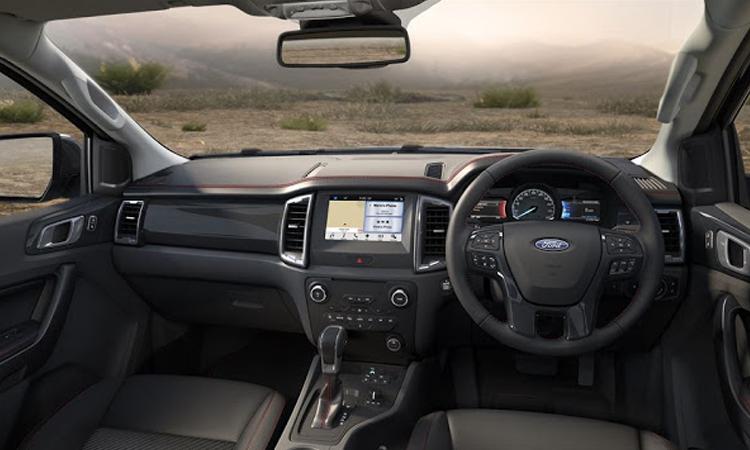 ภายใน Ford Ranger FX4