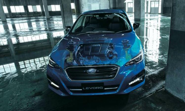 ด้านหน้า All-New Subaru Levorg V-Sport Edition