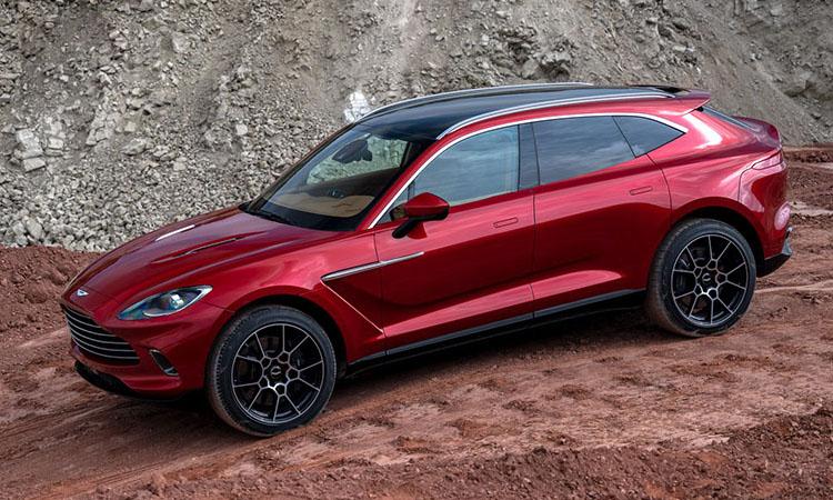 ดีไซน์ Aston Martin DBX 2021