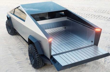 รถกระบะ Tesla Cybertruck EV มอเตอร์ไฟฟ้า 3 ตัว