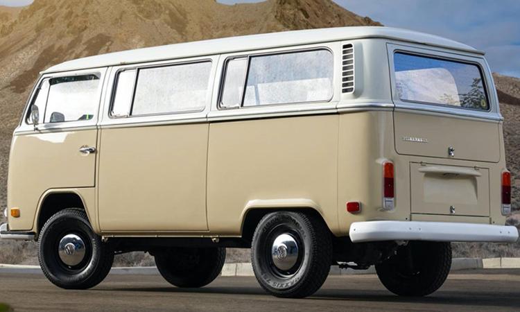 ดีไซน์ Volkswagen Type 2 Bus 1972 EV 100%