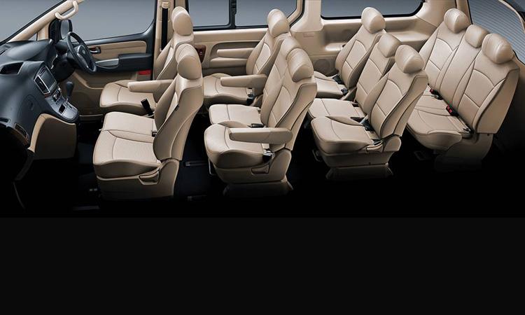 ภายใน Hyundai H1 MY2019