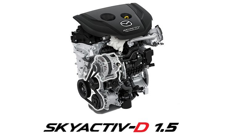 Mazda 2 Minorchange เครื่องยนต์ดีเซล Skyactiv-D