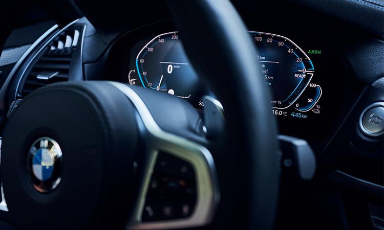 ภายใน BMW X3 xDrive30e