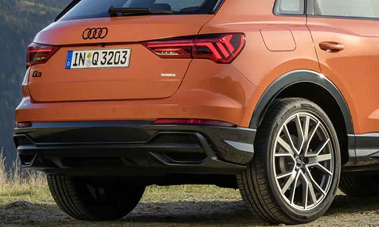 ดีไซนืด้านหลัง All NEW Audi Q3 generation 2