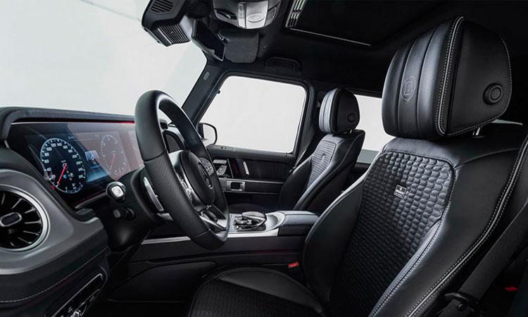 ภายใน Mercedes-Benz G-Class
