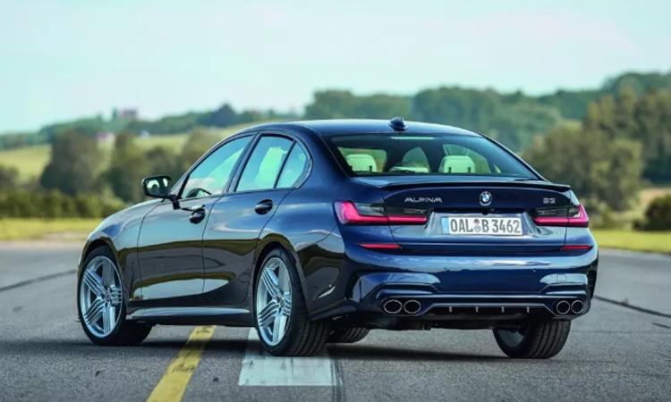 ด้านหลัง BMW ALPINA B3