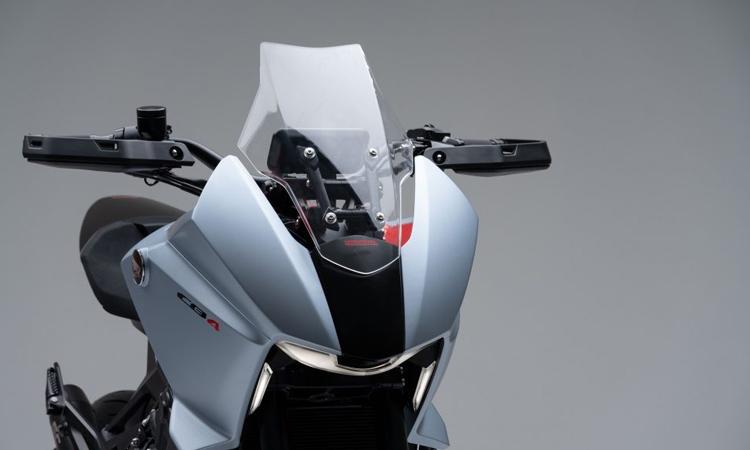 ดีไซน์โคมไฟหน้า Honda CB4X Concept 650cc