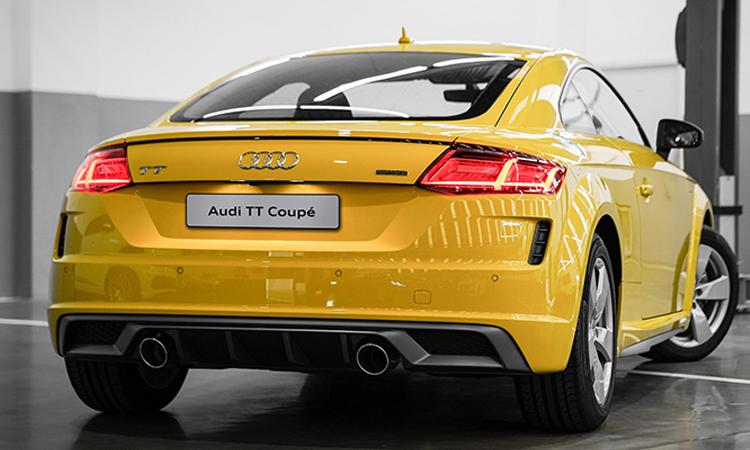 ดีไซน์ด้านหลัง Audi TT Coupe' 45 TFSI quattro S-Line