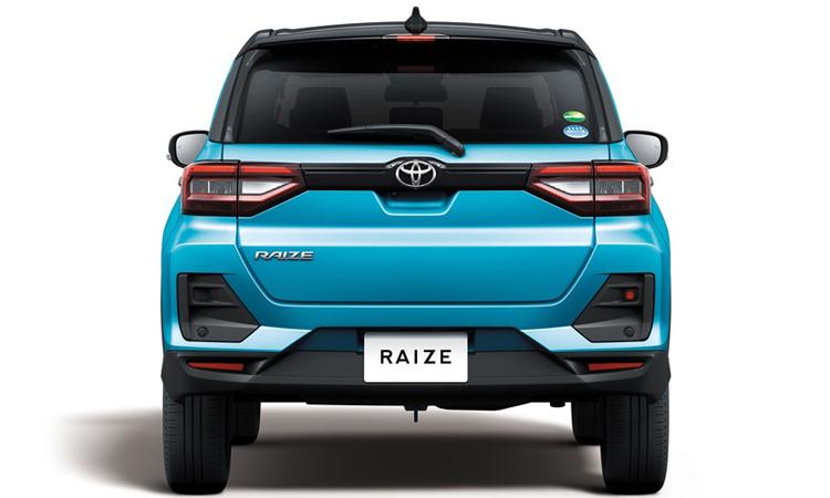 ด้านหลัง All NEW Toyota Raize