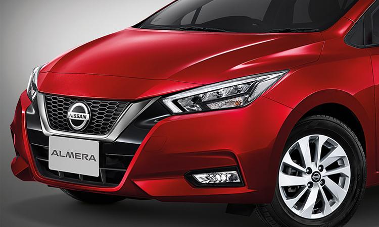 ดีไซน์ด้านหน้า All NEW Nissan ALMERA 1.0 TURBO