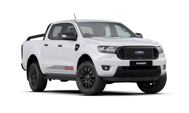 Ford Ranger FX4 สีขาว