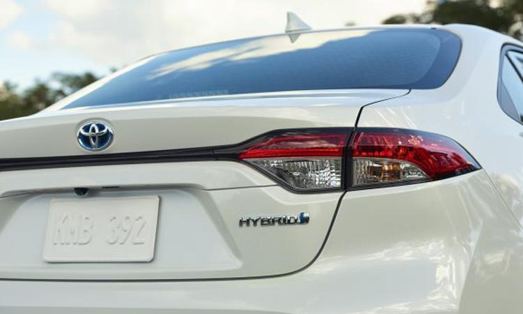 ท้าย Toyota Corolla Sedan 2020