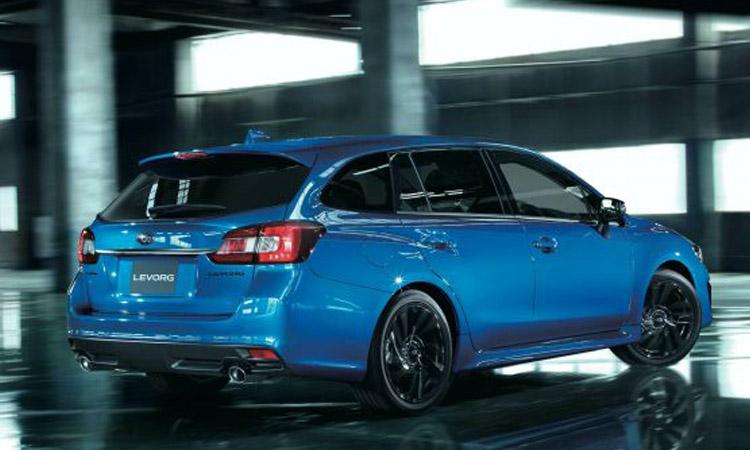 ด้านหลัง All-New Subaru Levorg V-Sport Edition
