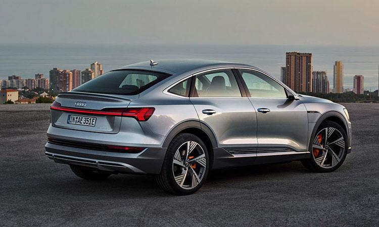 การออกแบบ Audi e-tron Sportback