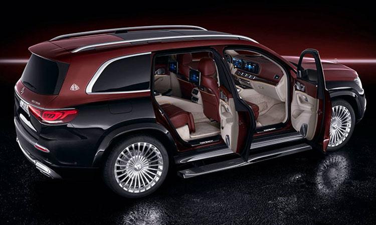 ดีไซน์ Mercedes-Maybach GLS