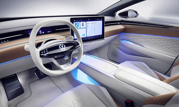 ีไซน์ภายใน Volkswagen ID. Space Vizzion