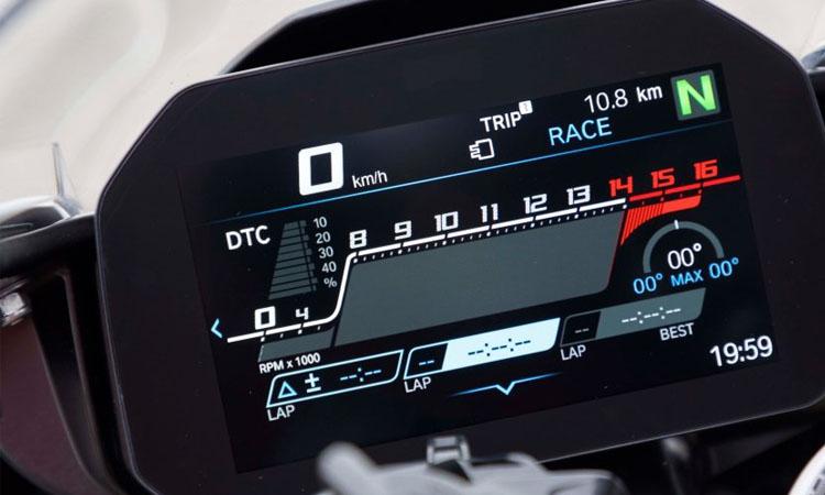 เรือนไมล์ All New BMW S1000RR