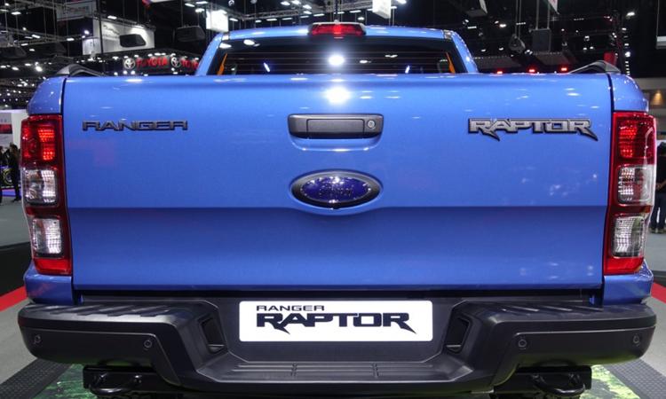 ดีไซน์ท้าย New Ford Ranger Raptor 2020