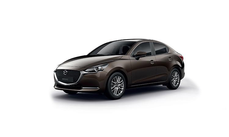 Mazda 2 Minorchange สีน้ำตาล Titanium Flash