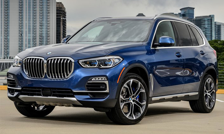 BMW X5 xDrive45e สีน้ำเงิน Phytonic Blue
