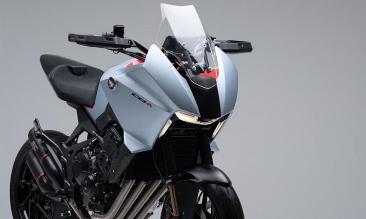 ด้านหน้า Honda CB4X Concept 650cc