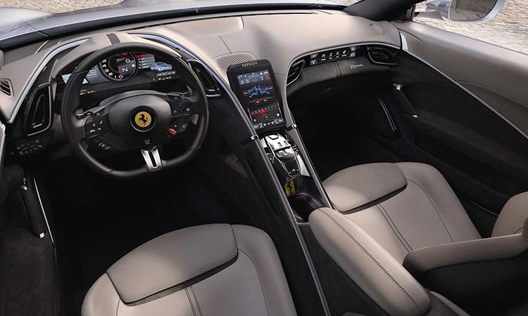 ดีไซน์ภายใน Ferrari Roma