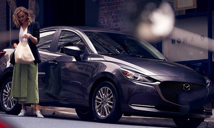 New Mazda 2 Sedan