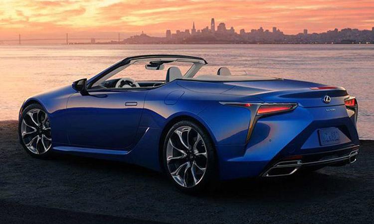 การออกแบบ Lexus LC 500 Convertible